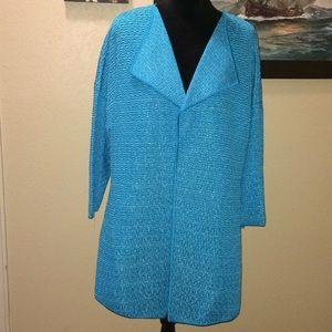 St. John aqua jacket